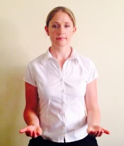 Start position for postural reset